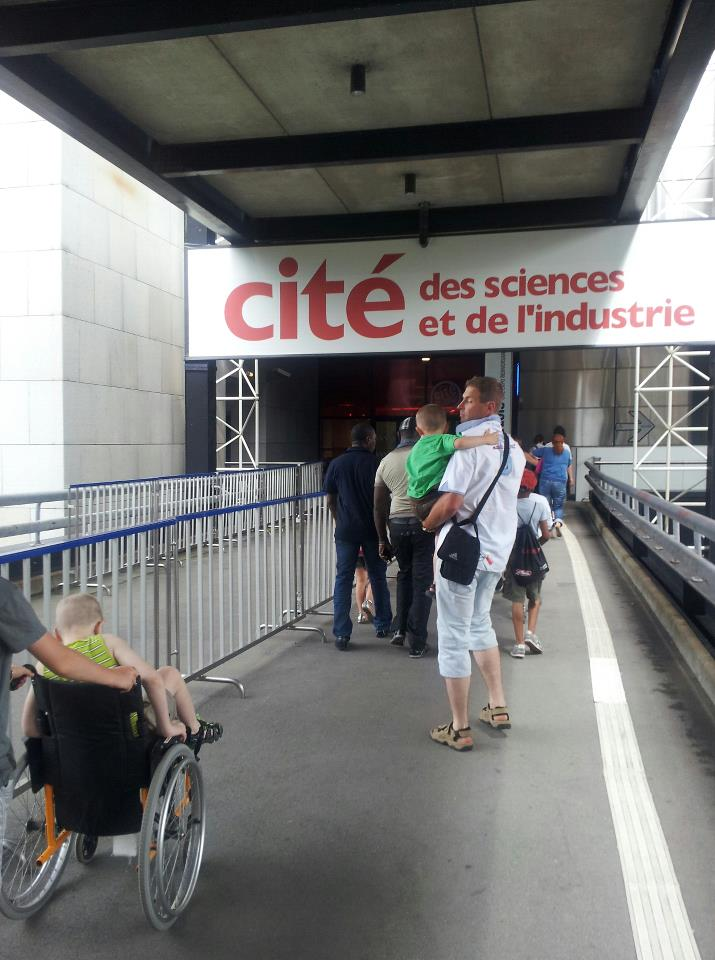 cite des sciences entree