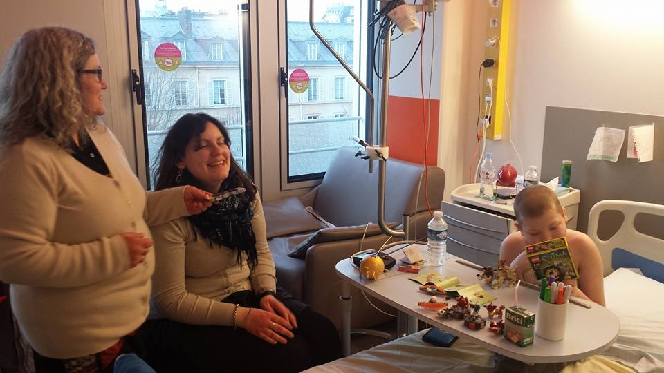 210215 visite marie be hopital